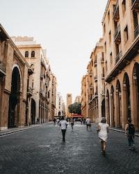 beige concrete buildings