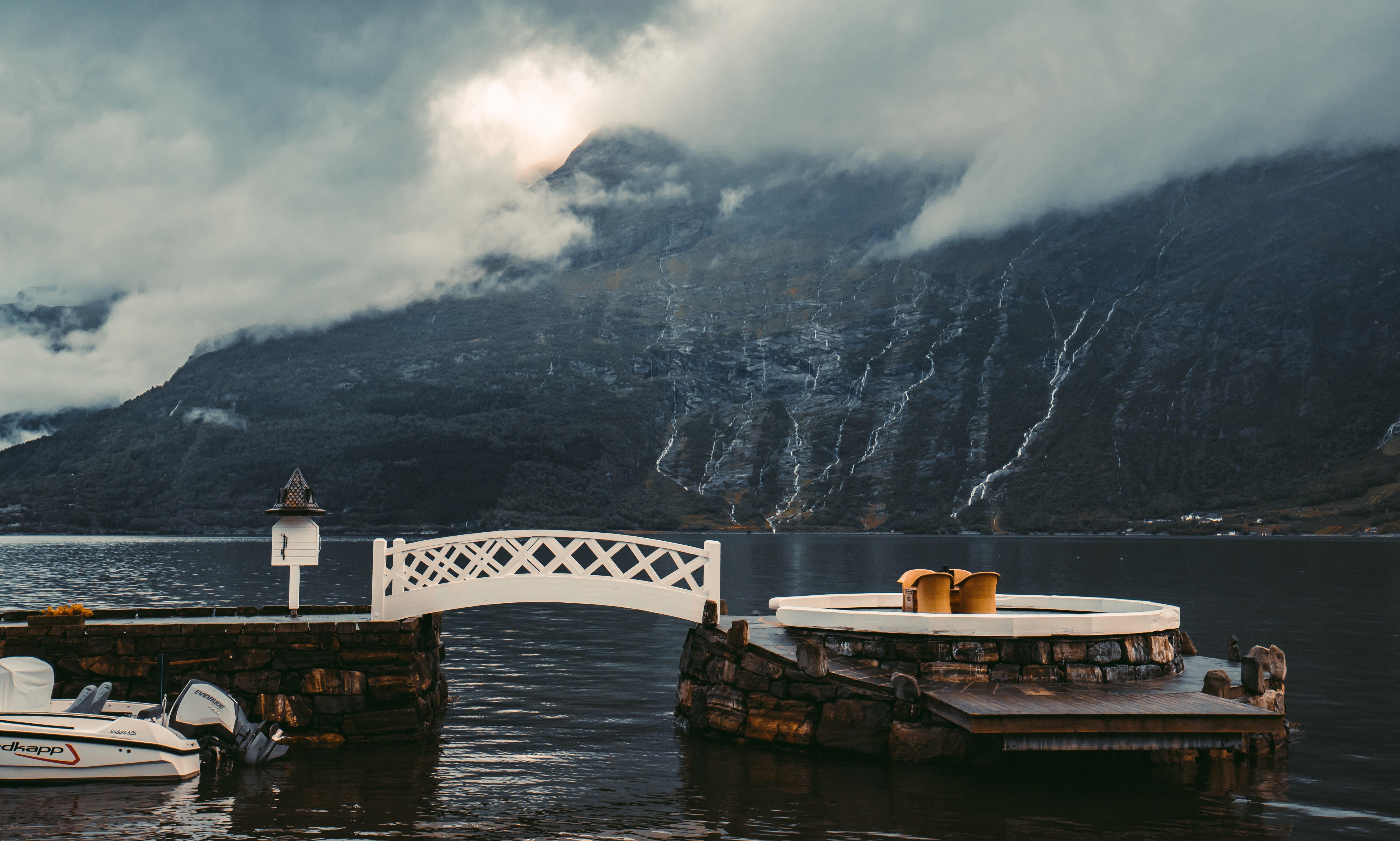 bridge near body of water