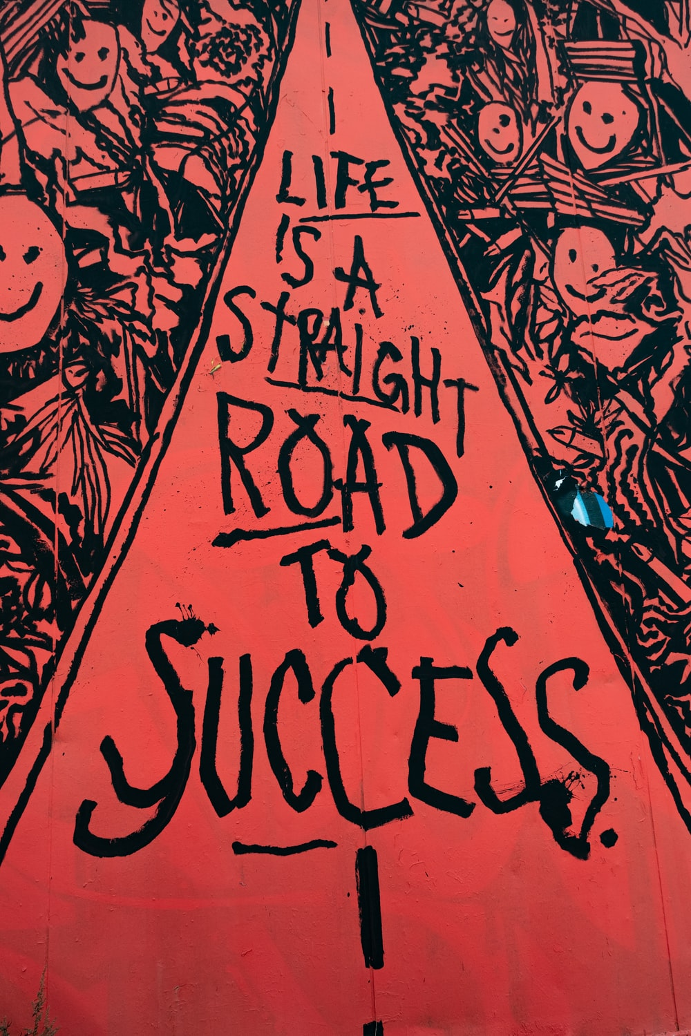 Life is a Straight Road to Success artwork