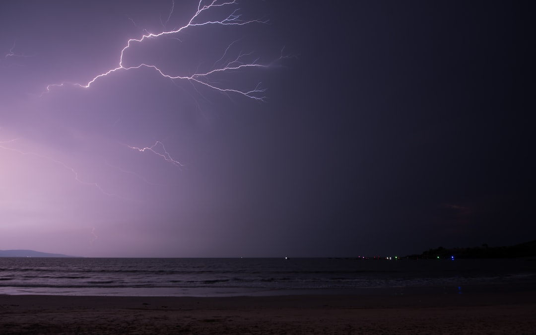 It didn't rain but we were able to see this lightning for around 2 hours. This was such a bliss. A moment after it did flash so hard that it felt like day.