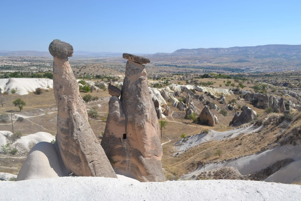 view of rocks landscape photo