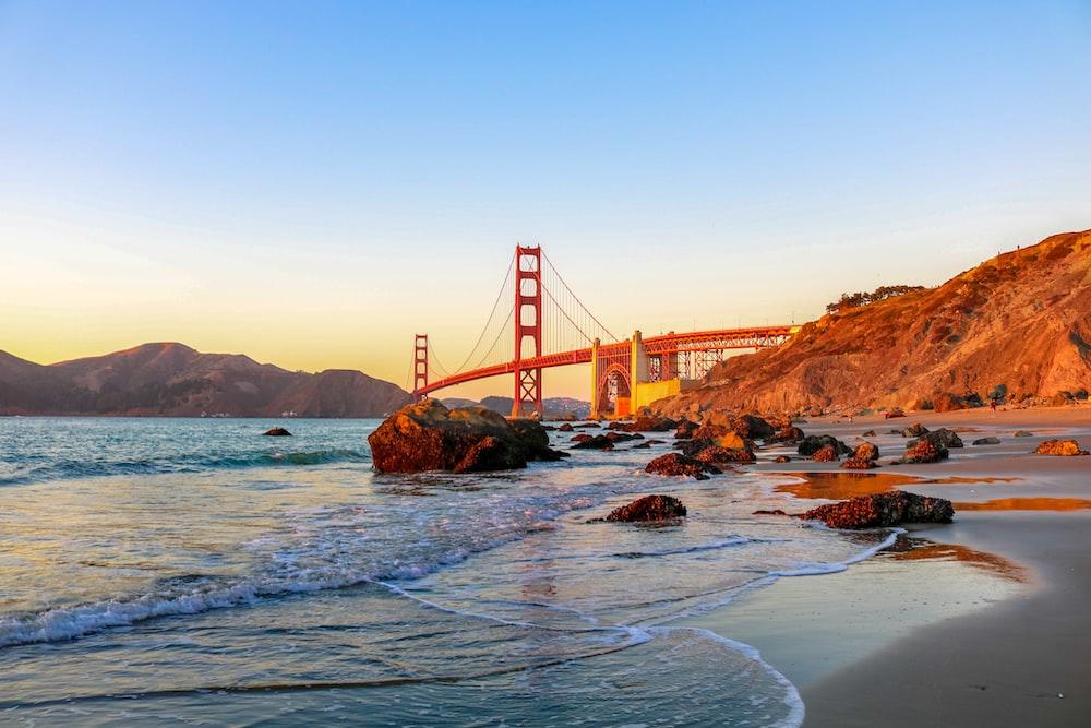 San Francisco bridge at daytime