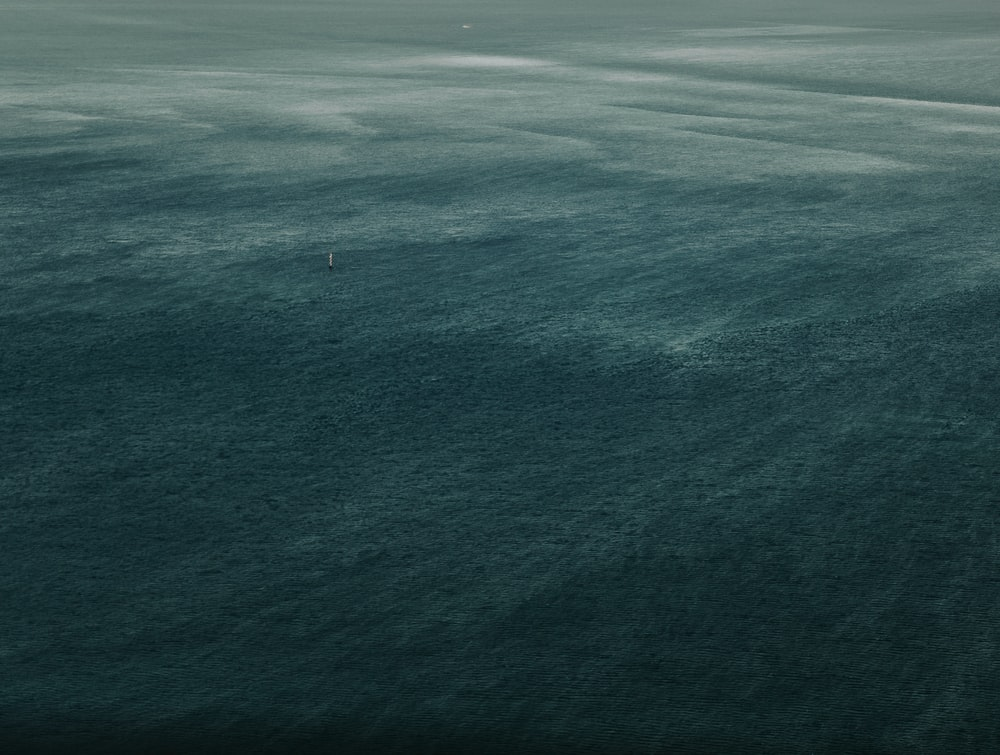 white sailboat out at sea