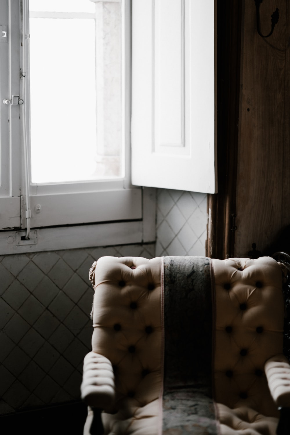Chair By A Window On A Wet Day Hd Photo By Annie Spratt