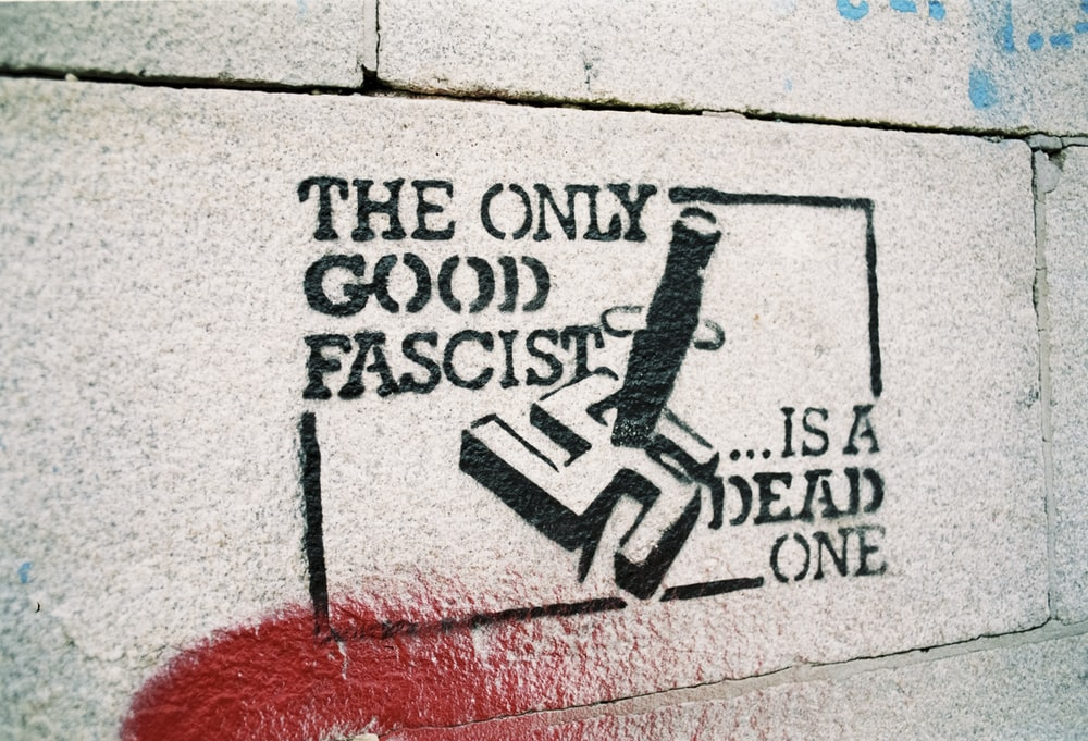 the only good fascist wall text