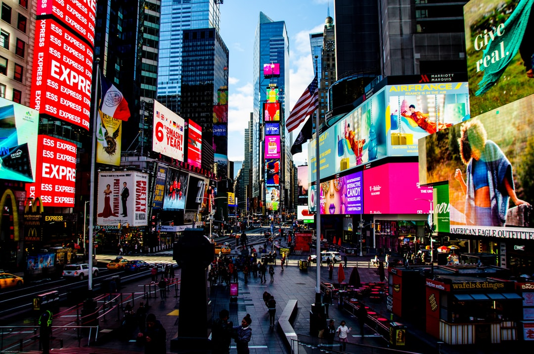 The most crowded place in the City - Times Square