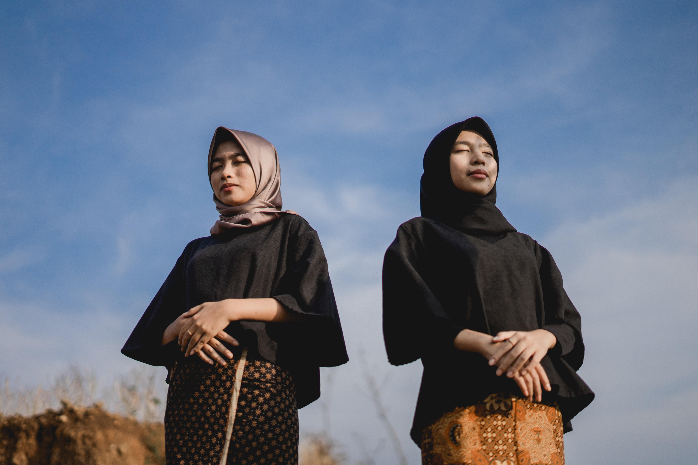 women standing outdoor