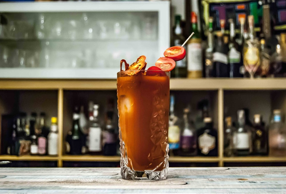 brown cocktail