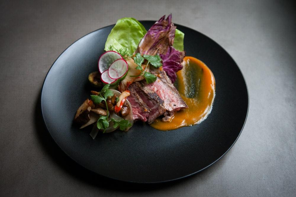 vegetable dish on plate