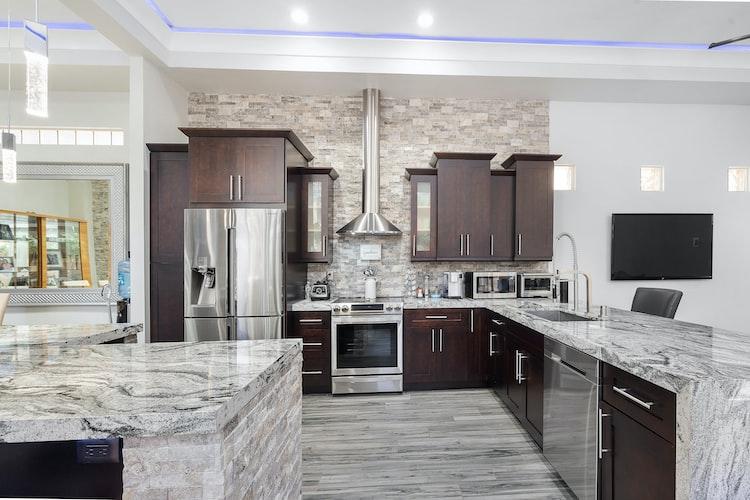 Fine Work Marble Kitchen Countertop