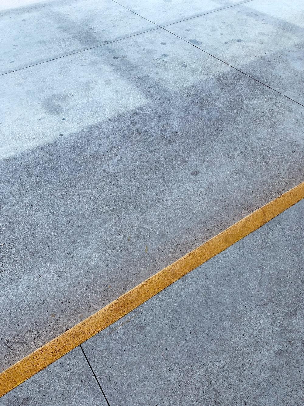 gray pavement