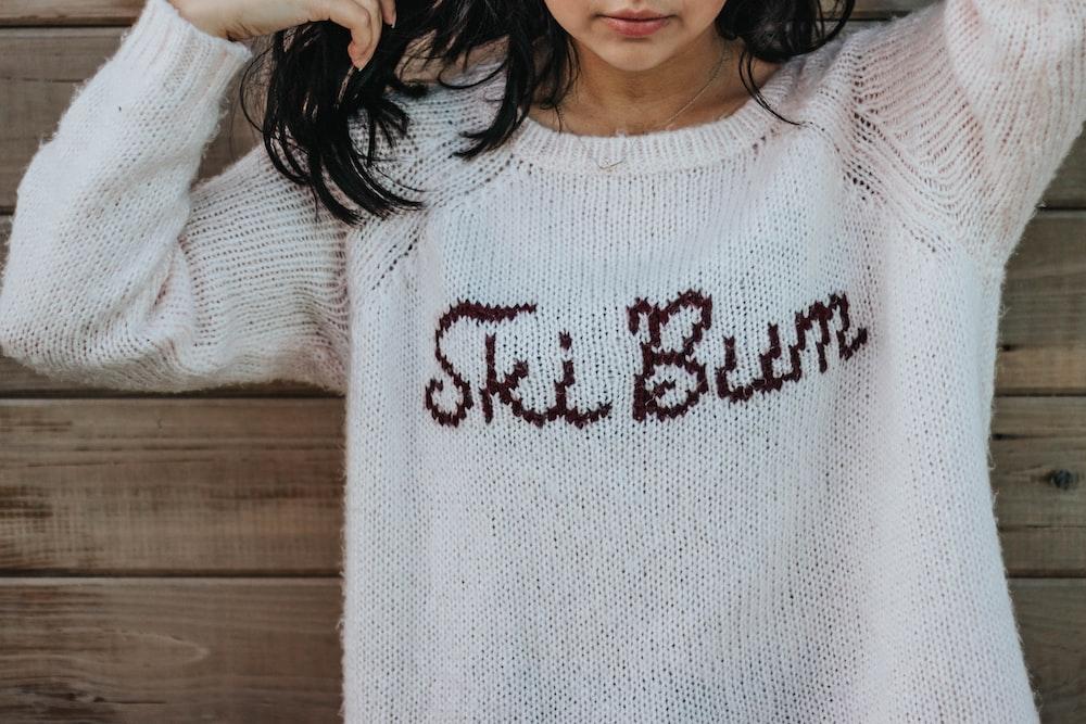 femme vetement en coton automne
