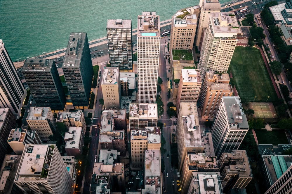 aerial photography of New York City during daytime