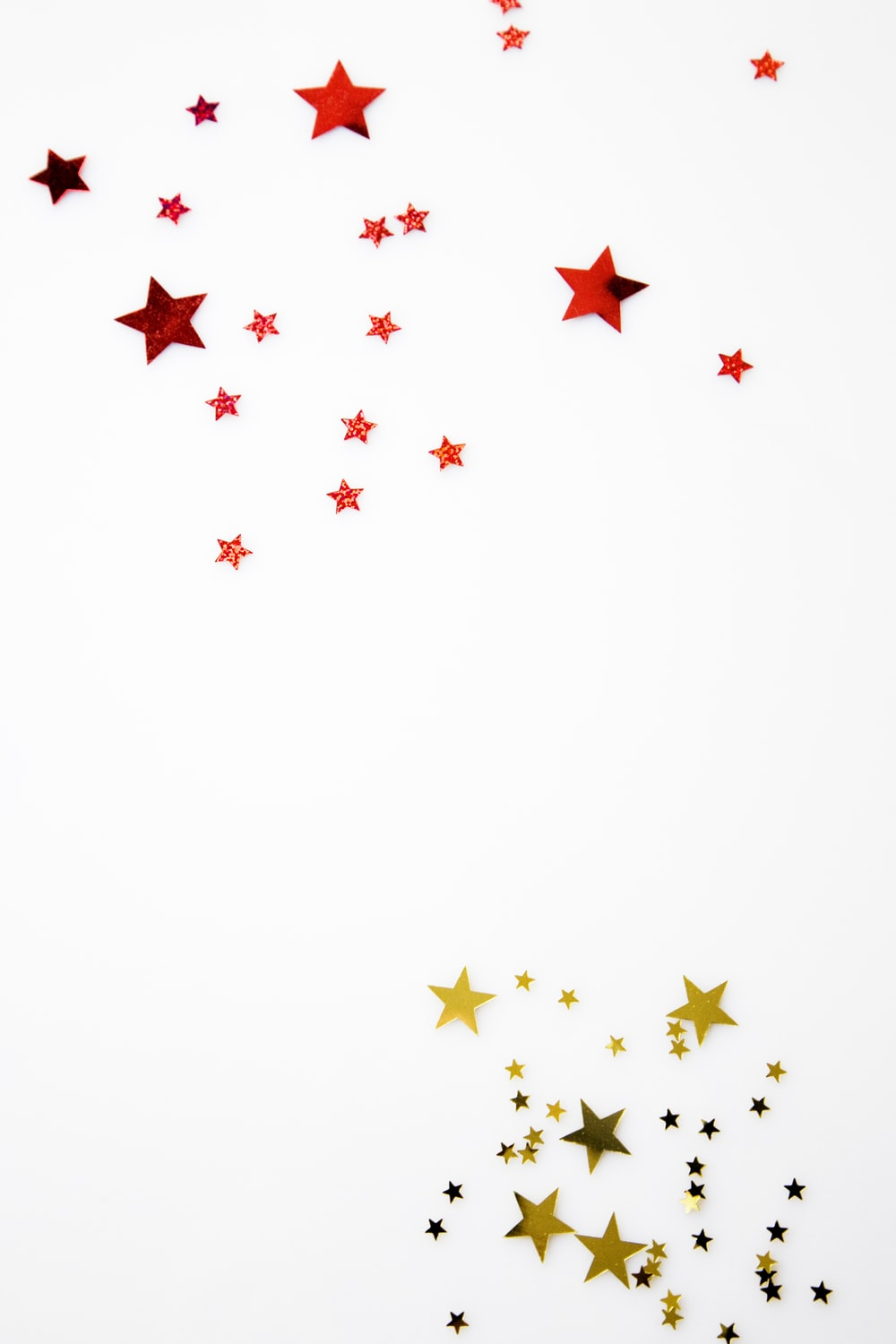 red and yellow star illustration