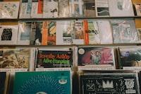 assorted music album covers