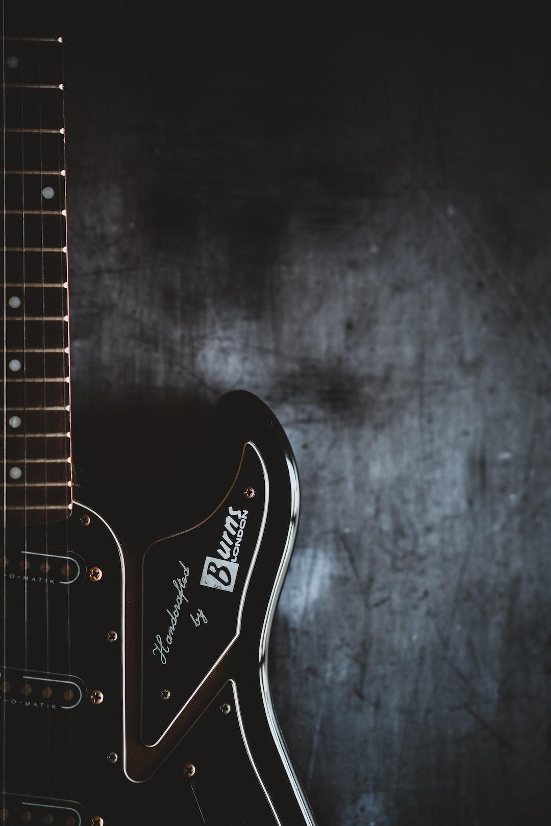 Burns electric guitar
