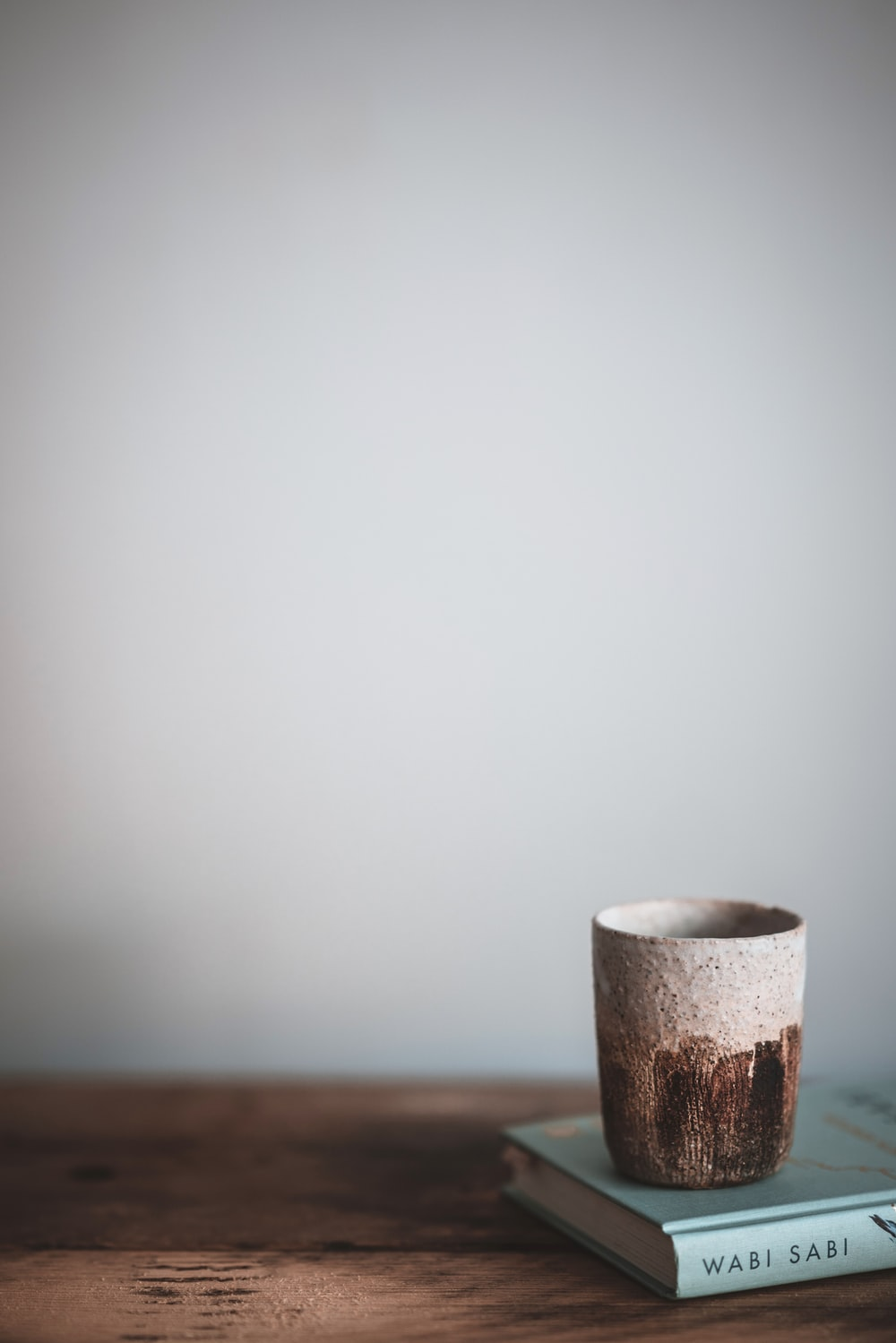 empty brown mug