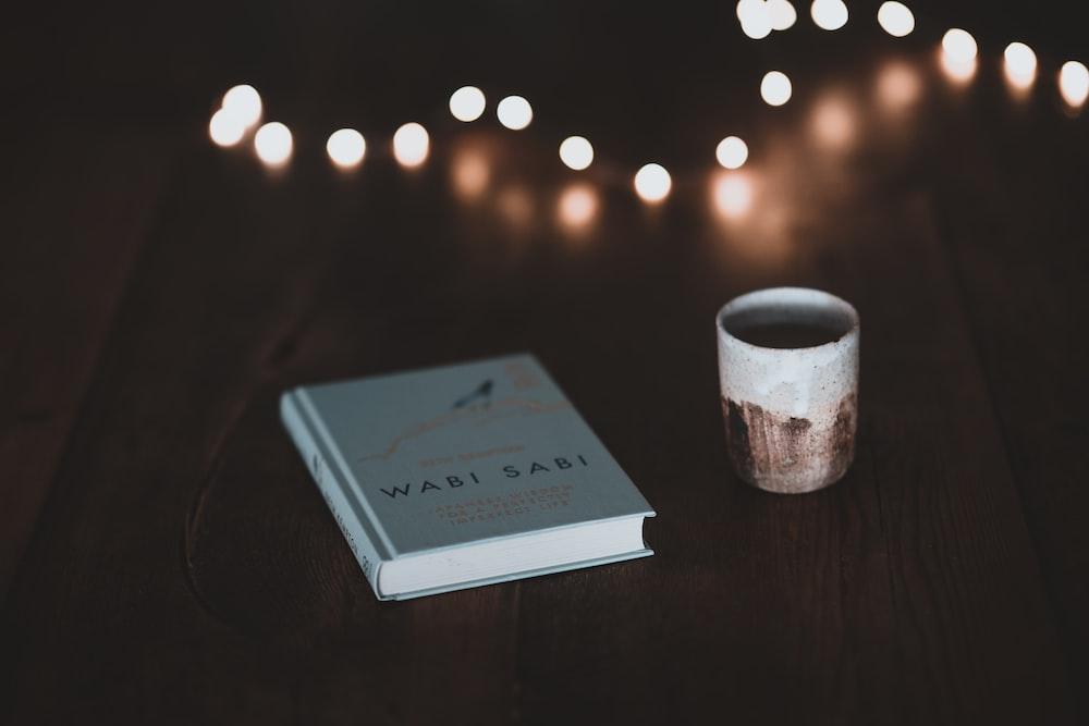 book beside mug