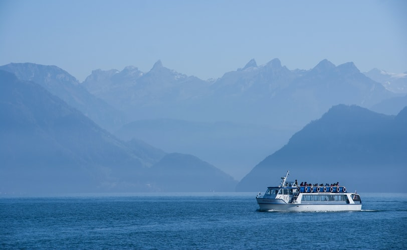 Ferry ride on Lake Lucerne