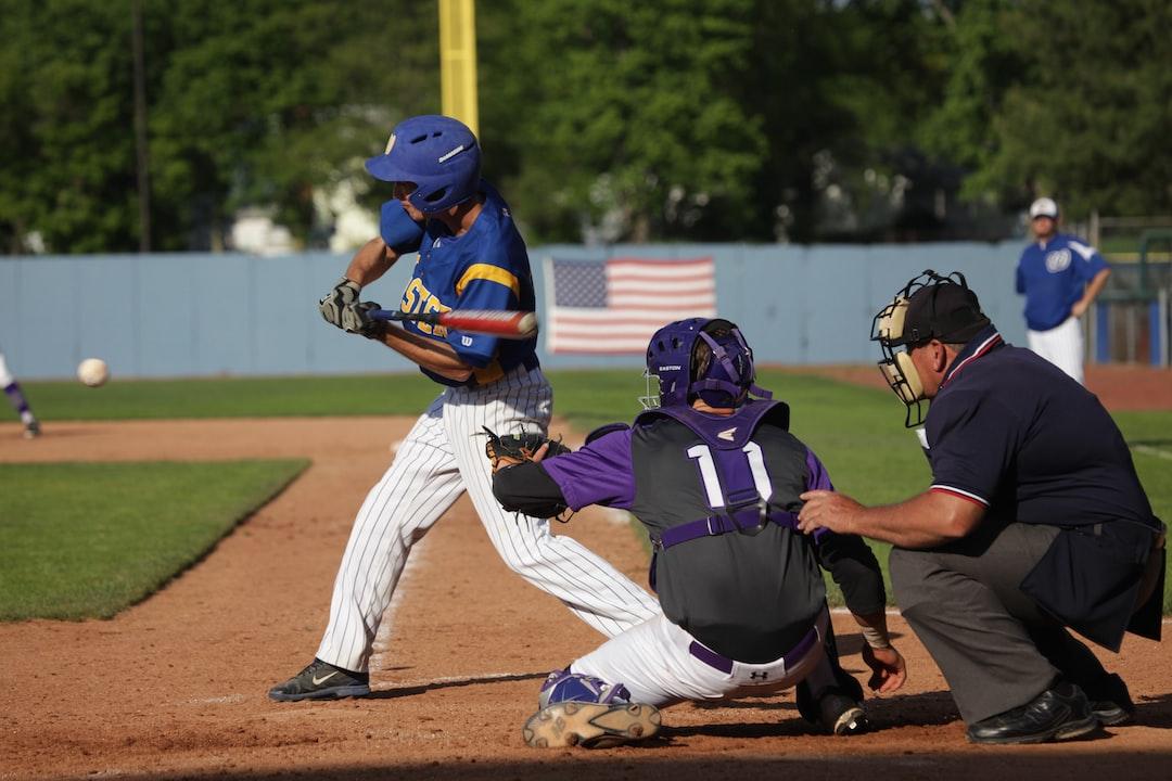 Baseball player with his eye on the ball