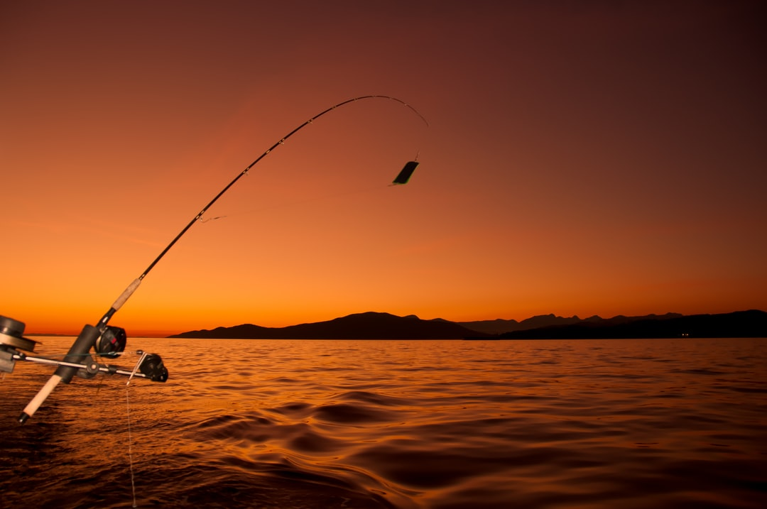 As the sun set we pulled in our rods and I got this one last picture before the sun disappeared.   Taken just of the coast of Vancouver while Salmon fishing.