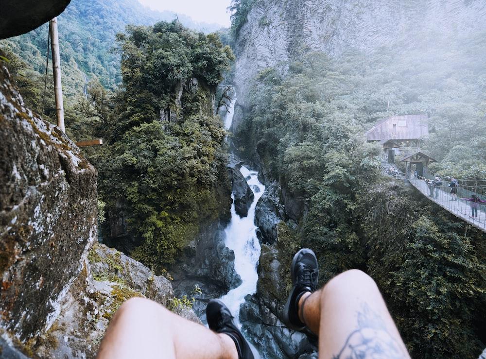Banos Del.Pailon Del Diablo Waterfall Banos Ecuador Pictures