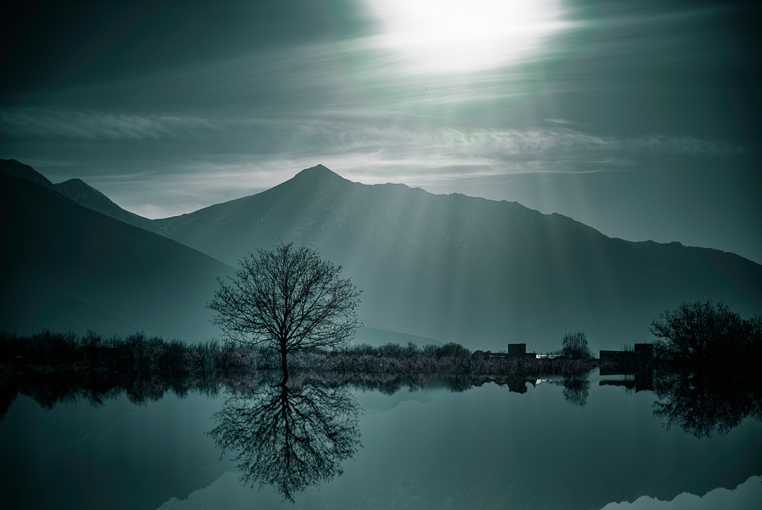 The story about this photo is simple, Composite. the reflection is made by me. there was no lake at all. :D