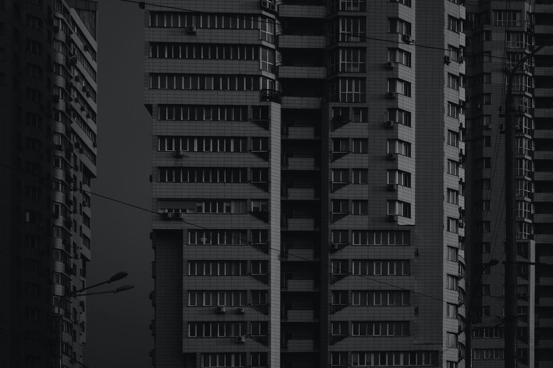 Windows and bricks, Kyiv, Ukraine