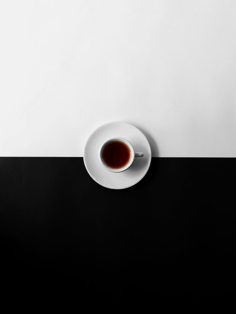 flat view photography of cup of coffee
