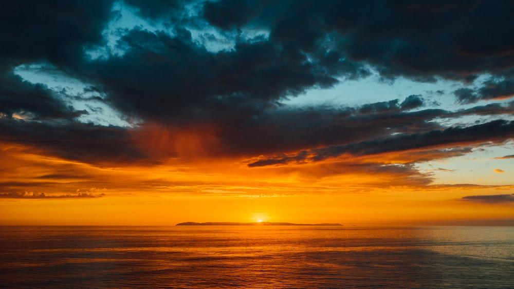 sunlight during sunset