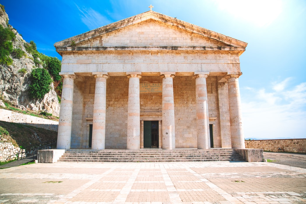 Old Town of Corfu, Heritage sites in Greece