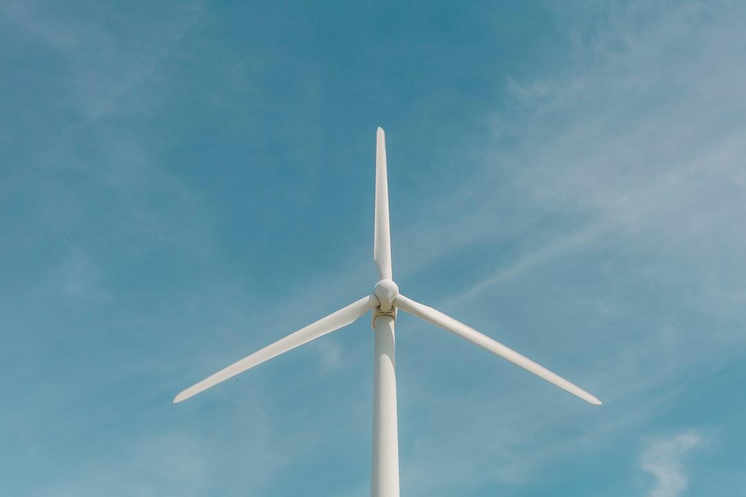 Blades of wind turbine at Roscoe Wind Farm