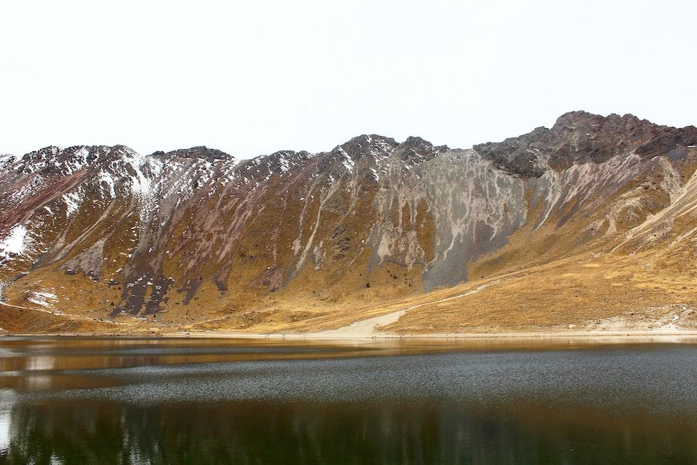 brown mountains during daytime