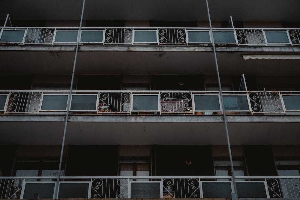 empty balconies