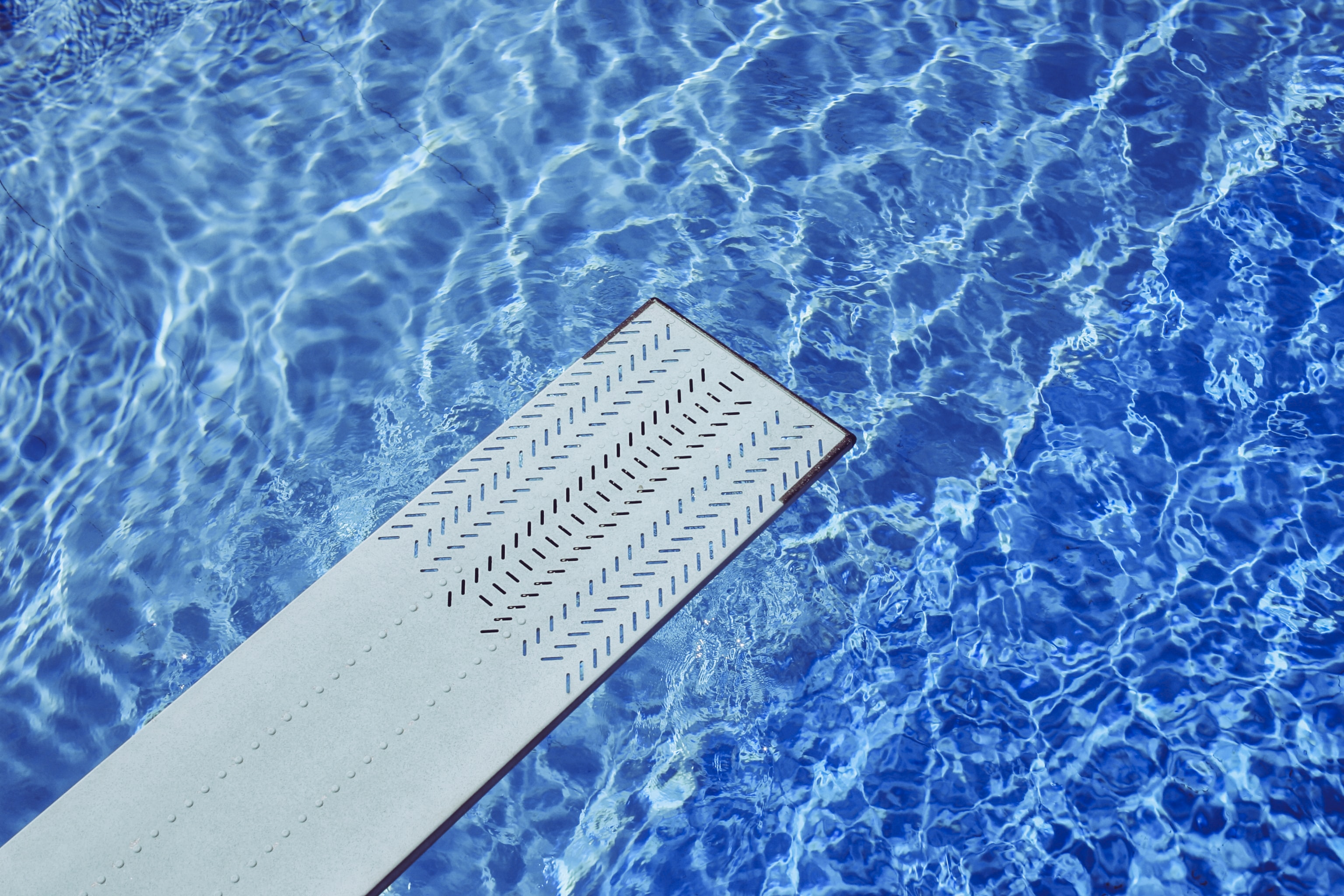 gray diving board