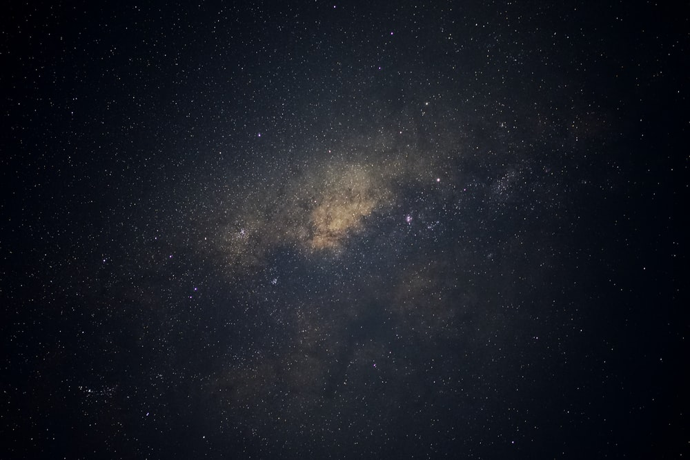 Milky way in nature photography