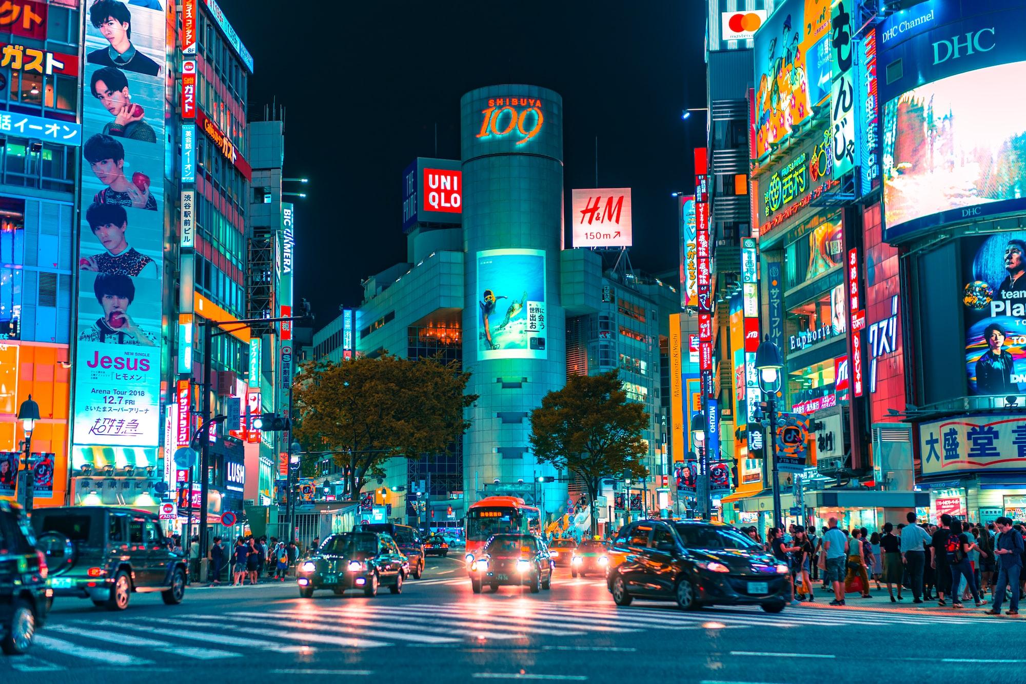 Shibuya crazy