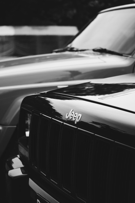 black Jeep car