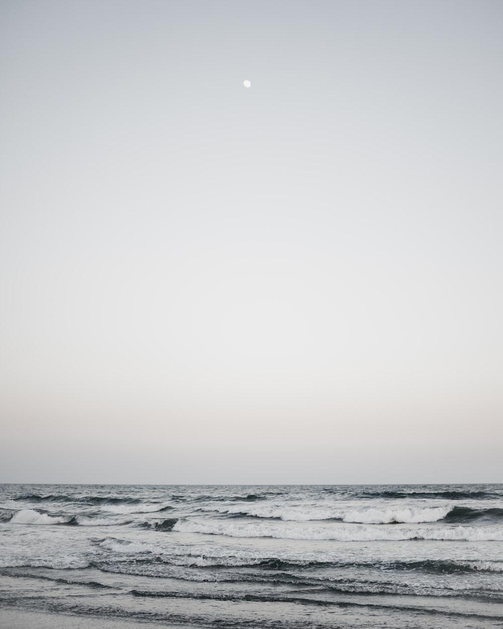 waving sea water