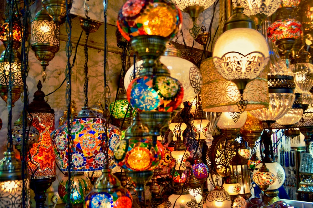 assorted lighted lamps insider oom