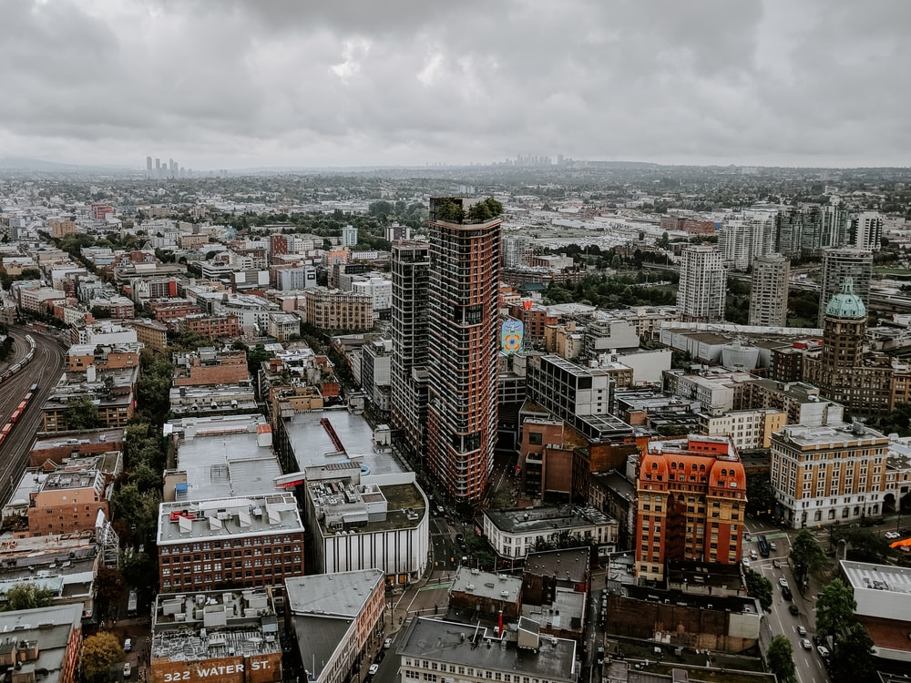 aerial photography of high rise building during daytime