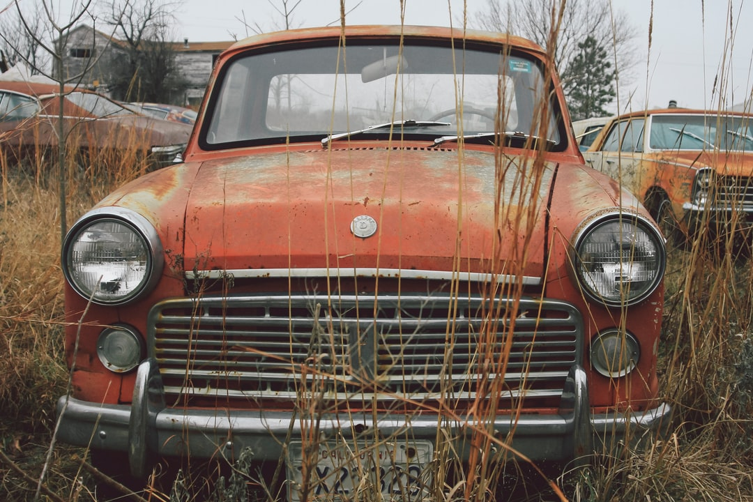 A rusty 1963 Datsun 1200 Pickup Truck | Check out my blog: matthewtrader.com/unsplash