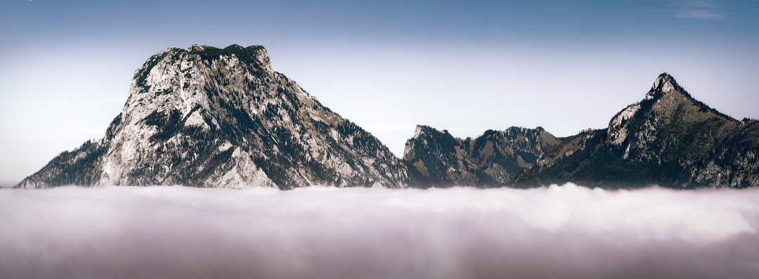 Gravity — Resting on stones above the clouds.