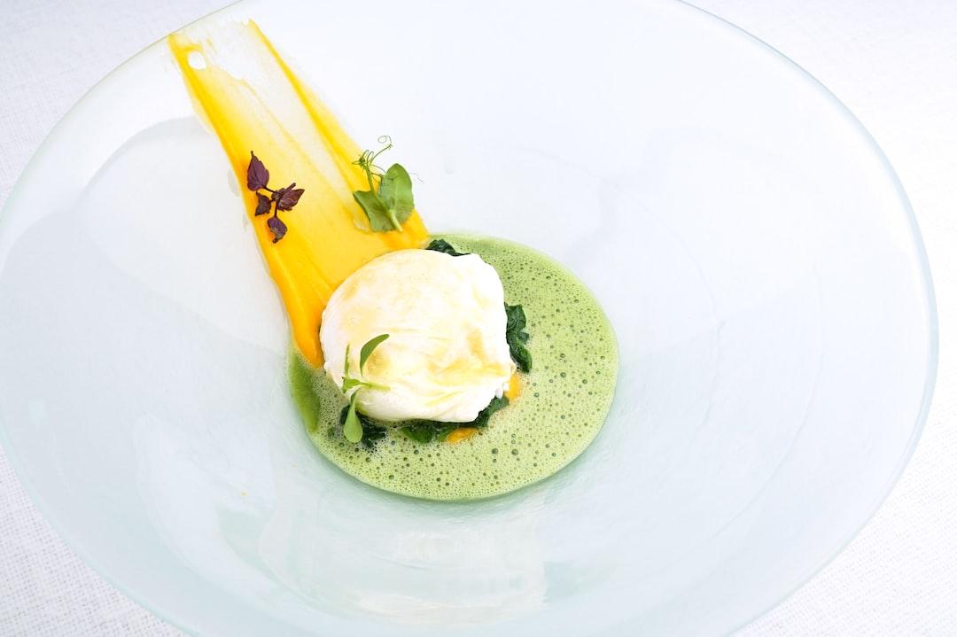A creation of chef Achim Schwekendiek