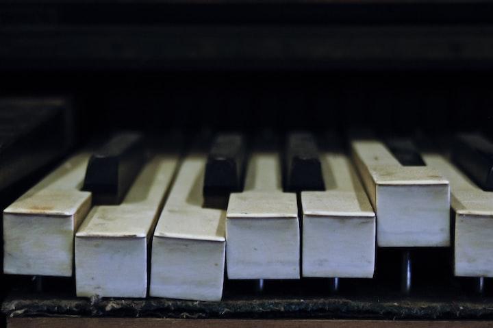 Piano Keys are Made of Bone