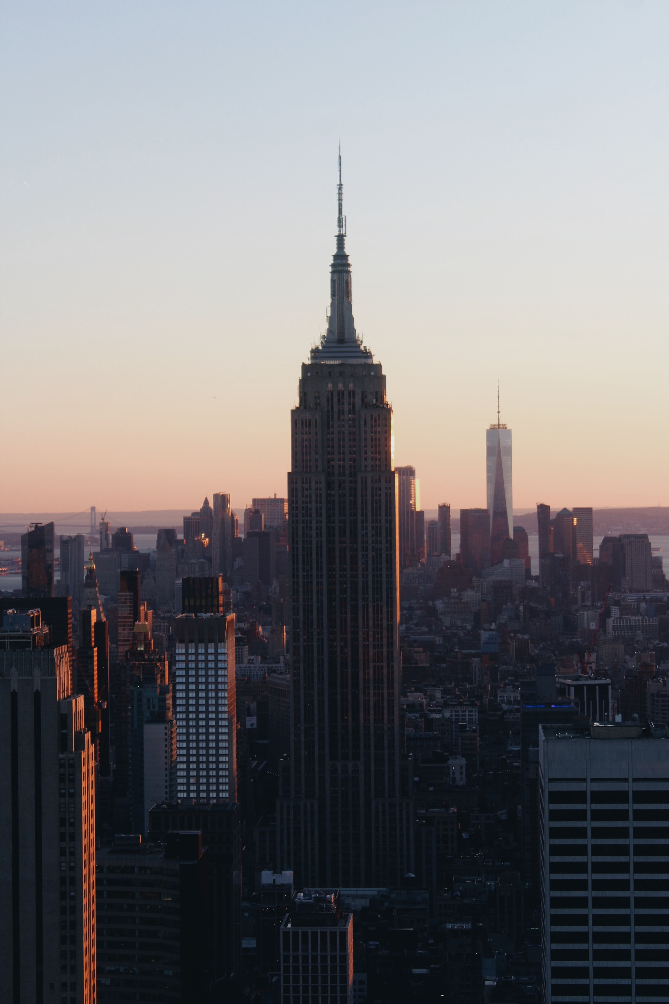 Empire State Building in NYC during daytime