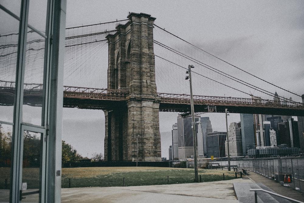 Brooklyn Bridge during daytime