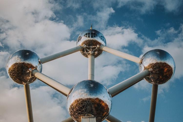 The Atomium, Belgium, Iconic Landmarks in Europe