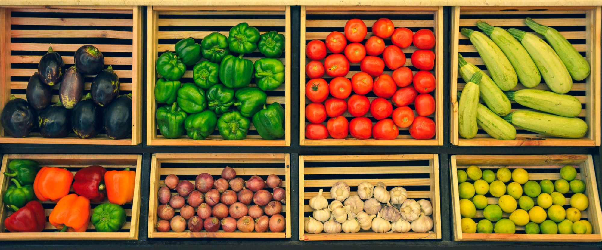 Neat arrangement of vegetables & cooking items. I took this shot at one of the hotels I was staying at