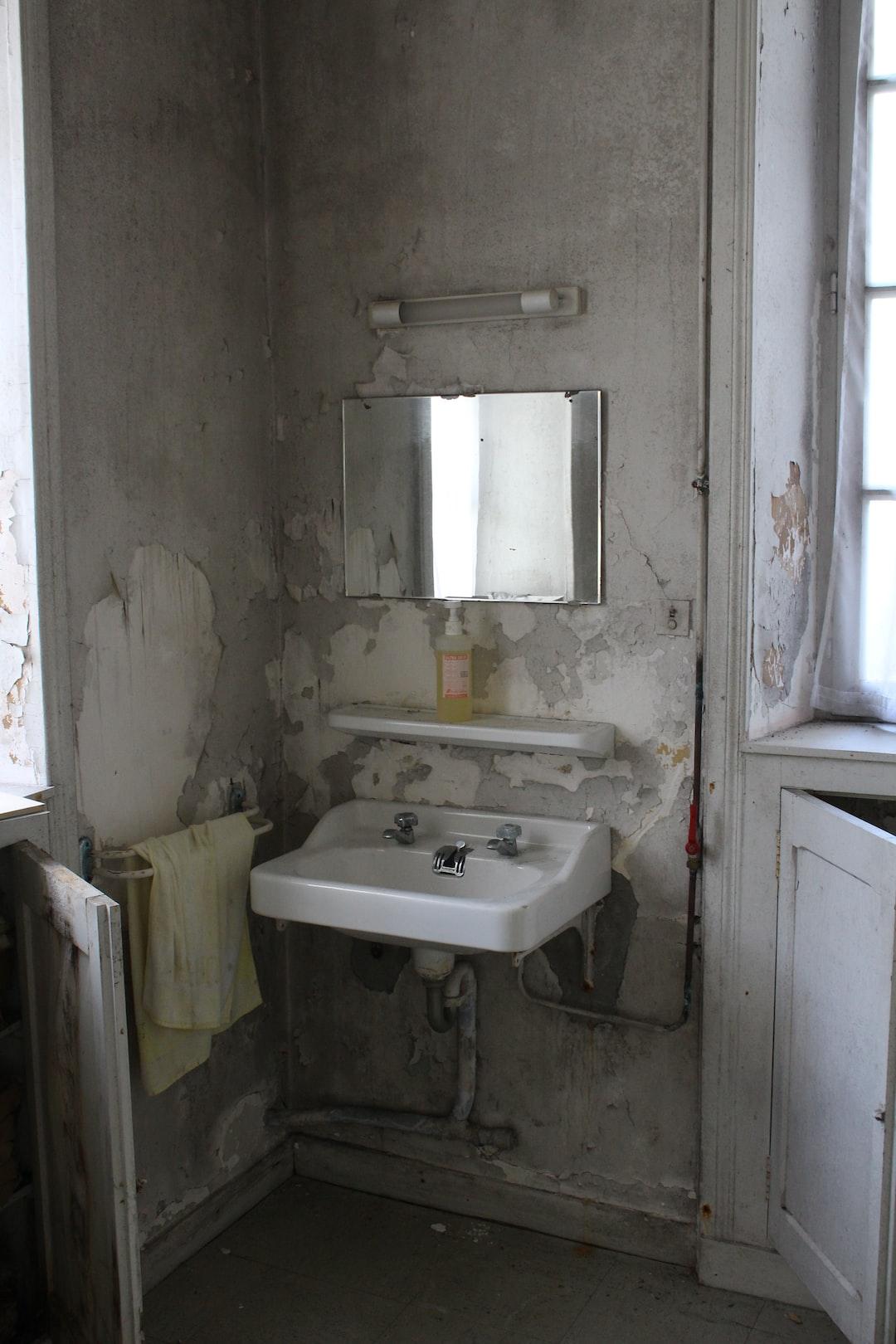 Clinic bathroom
